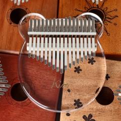 Kalimba Acrylic 17 Key Transparent Thumb Piano Mbi...